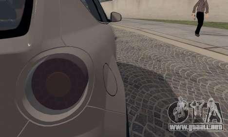 Afla Romeo Mito Quadrifoglio Verde para vista lateral GTA San Andreas