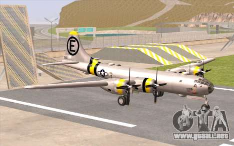 B-29A Superfortress para GTA San Andreas