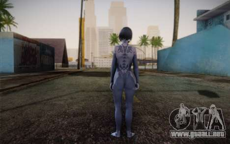Cortana from Halo 4 para GTA San Andreas segunda pantalla