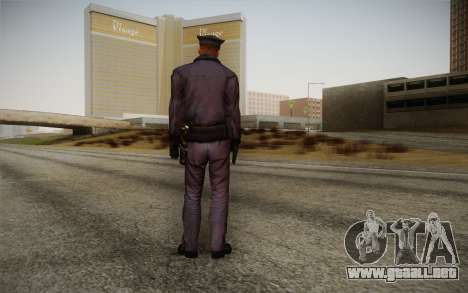 Policeman from Alone in the Dark 5 para GTA San Andreas segunda pantalla