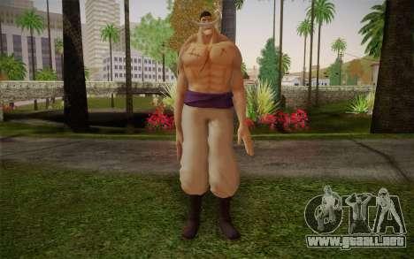 One Piece Whitebeard Edward Newgate para GTA San Andreas