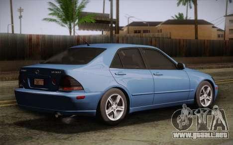Lexus IS300 2003 para GTA San Andreas left