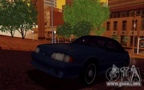 ENBSeries para PC débil v2 [SA:MP] para GTA San Andreas segunda pantalla