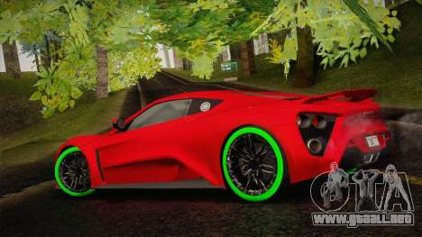 Zenvo ST1 SLow 2010 para GTA San Andreas left