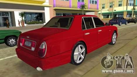 Bentley Arnage T 2005 para GTA Vice City left