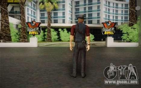 Ronan O'Connor из Asesinados: Alma Suspec para GTA San Andreas segunda pantalla