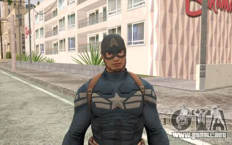 Captain America para GTA San Andreas tercera pantalla