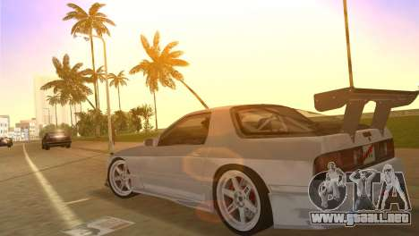 Mazda Savanna RX-7 III (FC3S) para GTA Vice City vista interior