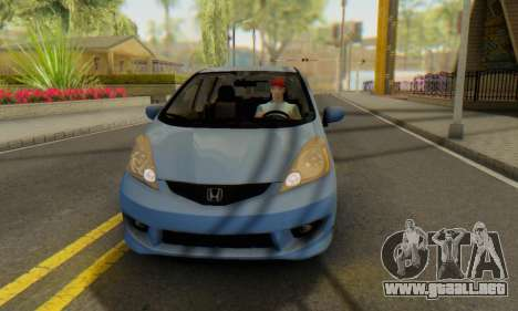 Honda Fit Stock 2009 para visión interna GTA San Andreas