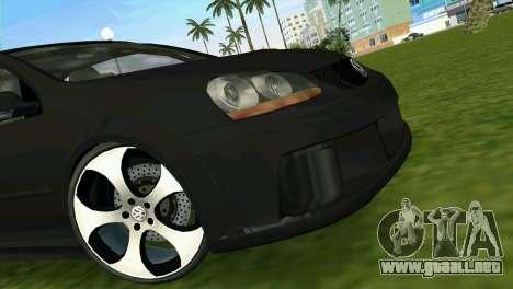 Volkswagen Golf GTI W12 para GTA Vice City vista posterior