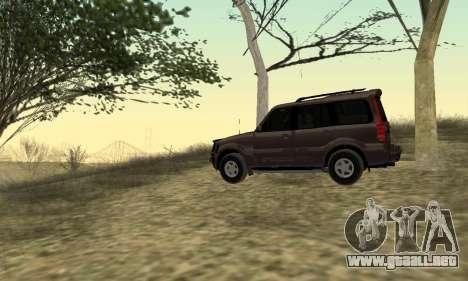 Mahindra Scorpio para la visión correcta GTA San Andreas
