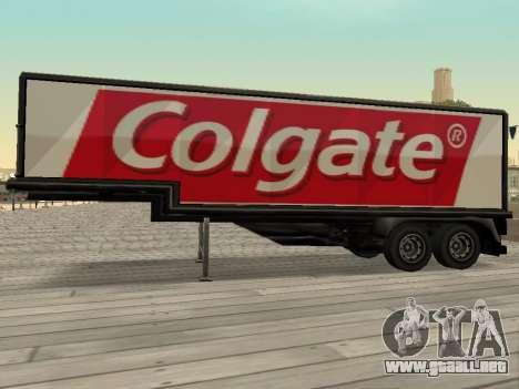 La nueva publicidad en los coches para GTA San Andreas segunda pantalla