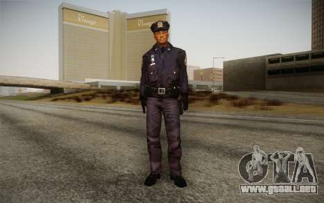 Policeman from Alone in the Dark 5 para GTA San Andreas