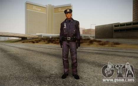 Policeman from Alone in the Dark 5 para GTA San Andreas