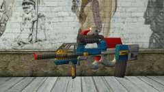 P90 MC Latin 3 from Point Blank para GTA San Andreas