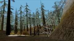 El denso bosque v2 para GTA San Andreas