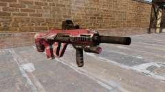 Máquina Steyr AUG-A3 Rojo urbano para GTA 4