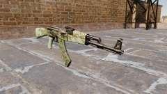 El AK-47 Verde camo para GTA 4
