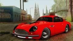 Aston Martin DB4 Zagato 1960 para GTA San Andreas
