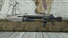 M4A1 con una bayoneta