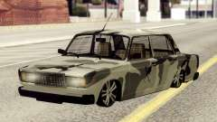 VAZ 2107 en camuflaje para GTA San Andreas