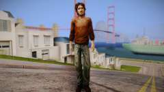 Lucas из The Walking Dead para GTA San Andreas
