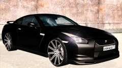 Nissan GTR-R35 Spec-V para GTA San Andreas
