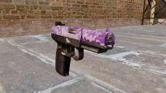 Pistola FN Five seveN Púrpura Camo