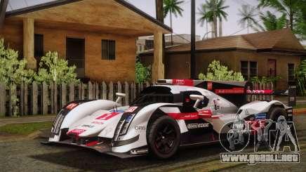 Audi R18 E-tron Quattro 2014 para GTA San Andreas