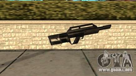 Jackhammer de Max Payne para GTA San Andreas