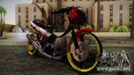 Yamaha Tiara S120 Speed MX drag para GTA San Andreas