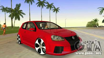 Volkswagen Golf GTI W12 para GTA Vice City