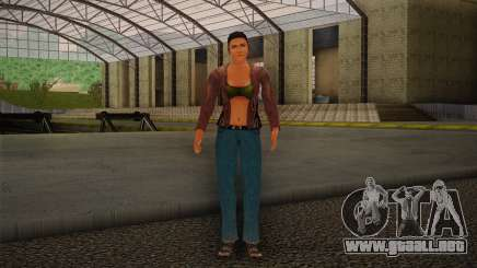 Woman Autoracer from FlatOut v4 para GTA San Andreas