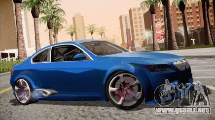 BMW M3 E92 SHDru Tuning para GTA San Andreas