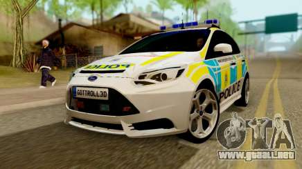 Ford Focus ST 2013 British Hampshire Police para GTA San Andreas