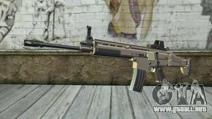 SCAR-L Custom para GTA San Andreas