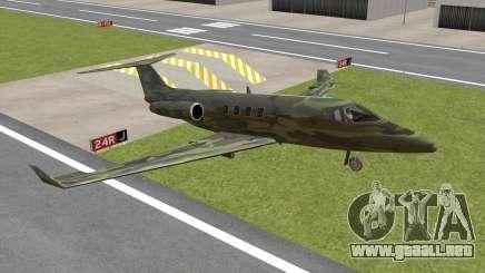 Camouflage Shamal para GTA San Andreas
