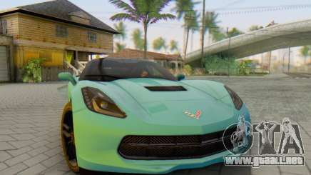 Chevrolet Corvette Stingray C7 2014 para GTA San Andreas