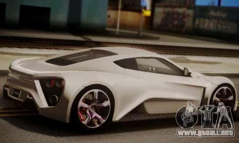 Zenvo ST SHDru Tuning para GTA San Andreas left