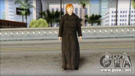 Ron Weasley para GTA San Andreas