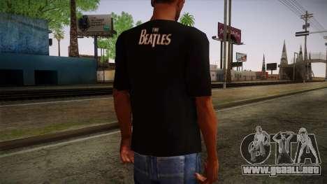 The Beatles Let It Be T-Shirt para GTA San Andreas segunda pantalla