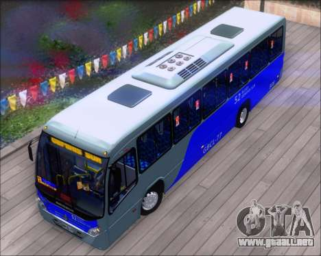 Neobus Spectrum City Mercedes Benz OF-1722 para vista lateral GTA San Andreas