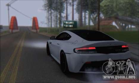 Aston Martin V12 Vantage S 2013 para GTA San Andreas left
