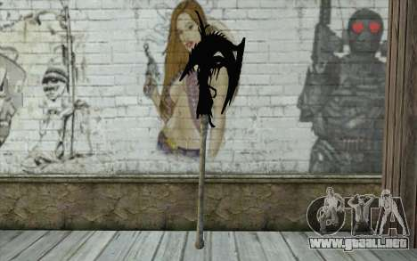Dante Demonic Axe para GTA San Andreas segunda pantalla