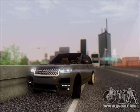 Land Rover Range Rover Startech para la visión correcta GTA San Andreas
