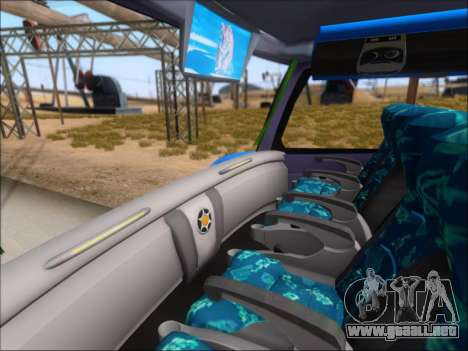 Marcopolo Paradiso G7 1800 DD Inter Sur para vista inferior GTA San Andreas