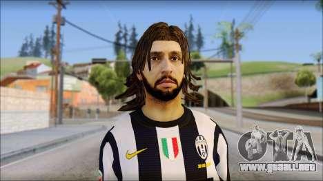 Andrea Pirlo para GTA San Andreas tercera pantalla