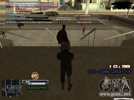 Fake time for Diamond Rp para GTA San Andreas