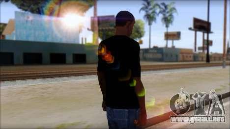 Sepultura Logo T-Shirt para GTA San Andreas segunda pantalla