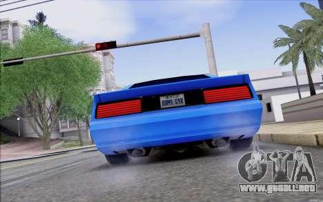 Buffalo Drift Style para la visión correcta GTA San Andreas